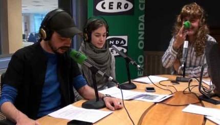 Iván cortés en la radio